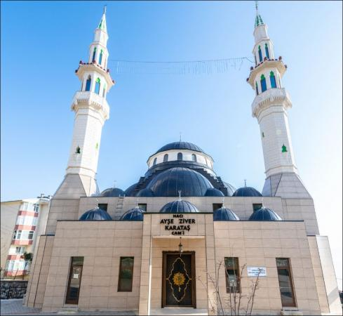 Hacı Ayşe - Ziver Karataş Camii İbadete Açıldı